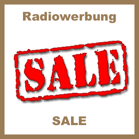 Radiowerbung Sale